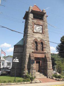 The Ellen E. Ward Clock Tower