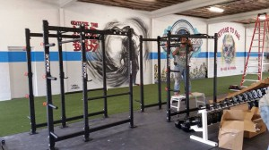 The gym is targeting a Nov. 1 opening. Photo courtesy of Siege Fitness Facebook