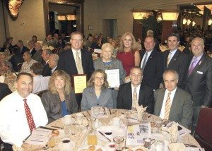Chamber members at the breakfast, along with Judy Jacobs and Wayne Wink and Peter Zuckerman