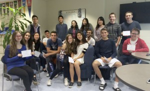 Commended students from Roslyn High School