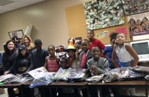 Roslyn students choose from Halloween gifts