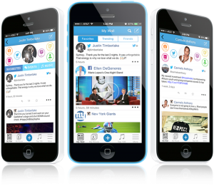 Rouse Social is available on your smartphone.
