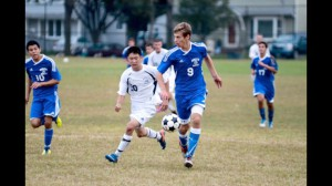 Roslyn soccer in action
