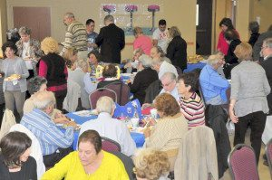 The senior luncheon