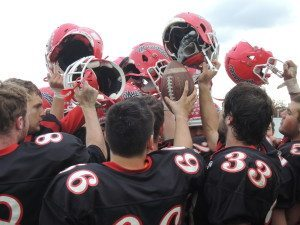 The Mineola Mustangs will face the Locust Valley Falcons on Saturday, Nov. 15 at Hofstra University.