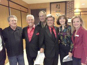 From left: Sal Mirra, Don K. Reed, Scott Baumgarten, Emil Stucchio and Bonnie Parente.