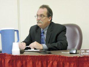 Mineola School Board President Artie Barnett