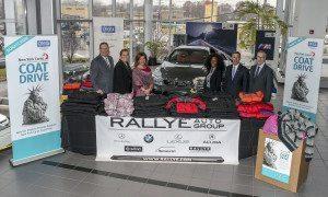 From left: Nick Toomey, Tracey Toomey, Rallye Training director; Donna Athenas, Rallye Human Relations director;  Nefisah Sallim, Jack Martins and Mark Schienberg