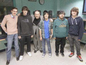 From left: Jacob Mariani, John McCormack, Chris Brogan, Tim Meyn,  Adnan Thair and Frank Lopez