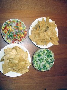 Guacamole served with house made chips