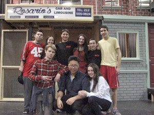 Top row, from left: Adam Heitner, Arielle Popick, Daniel Golden, Carly Heitner, Josh Fried and Ryan Gomez. Bottom row, from left: Trevor Cox, Daveen Rim and Casey Landman