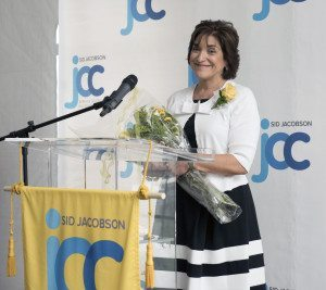 Honoree Connie Wasserman, Associate Executive Director at Sid Jacobson JCC.